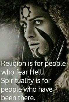 This is correct. In one area we all should fear hell, but you need to know what the Bible says and quit being so self righteous and all that junk just get real…