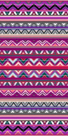 Aztec Art Print by Ornart Pink Wallpaper Ios, Vintage Flowers Wallpaper, Animal Print Wallpaper, Textured Wallpaper, Wallpaper Backgrounds, Iphone Backgrounds, Screen Wallpaper, Iphone Wallpapers, Tribal Patterns