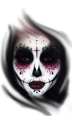 Chicana, santa mexicana, santa morte lá santa muerte