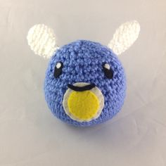 Phosphor slimes are fun to have, but be careful because they will fly away at the first moment possible! Buy a Phosphor slime here! https://www.etsy.com/listing/511799467/amigurumi-phosphor-slime-slime-rancher?ref=shop_home_active_1 #pastelteaparty #slimerancher #amigurumi #plush #etsy #cute #kawaii #slime #crochet #plushie #etsystore