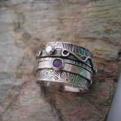 Stoned Twiddle Ring by kimistry3.deviantart.com on @DeviantArt
