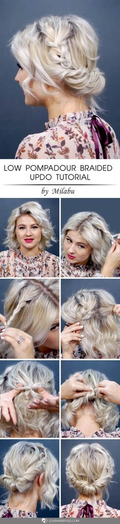 Updos for short hair exist! What is more, they are not less versatile and easy to play around with than the ones for long hair! To prove our point we invite you to have a closer look at these fantastic updo tutorials for short hair which have not left anyone dissatisfied so far! #updosforshorthair #shorthairstyles #tutorials