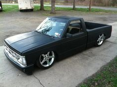 Flat black bagged S10