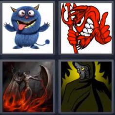 cuatro fotos una palabra 4 letras