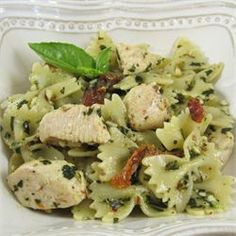 Pesto Pasta with Chicken - Allrecipes.com