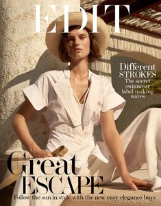 Giedre Dukauskaite | Resort Fashion Editorial | The Edit Cover