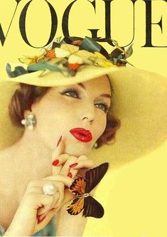 VOGUE Cover. Erwin Blumenfeld