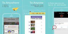 Weafo تطبيق لنقل الملفات من هاتفك الأيفون إلى مختلف الأجهزة - زووم على التقنية