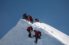 Nepal peak climbing is greatest adventure in Nepal Himalaya.