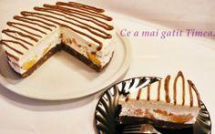 Retete Culinare - Tort de vara cu piersici