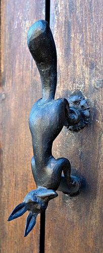 Foxy Door Knocker