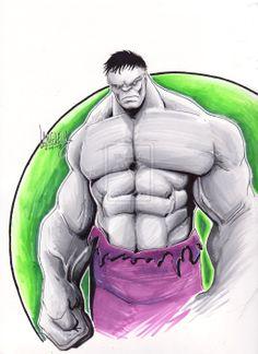 Gray Hulk by LangleyEffect.deviantart.com on @deviantART