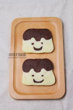肉桂打噴嚏 : 食譜*布丁弟弟創意小餅乾