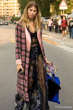 Veronika Heilbronner at Milan Fashion Week SS17