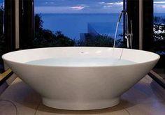 White Tasse bath - £2,736 – Bathroom City