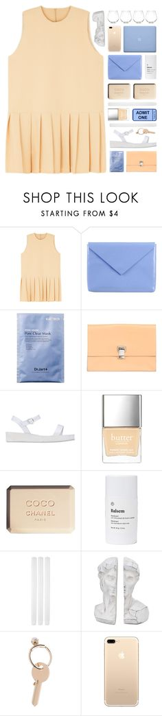 """peaches and cream... [TOP SET]"" by cinnamon-and-cocoa ❤ liked on Polyvore featuring Acne Studios, Proenza Schouler, Ancient Greek Sandals, Butter London, Chanel, Balsem, Maison Margiela, Kate Spade and alistopsets"