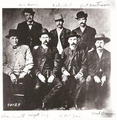 """8a0241c35fb59 countryandtown  """"Wyatt Earp and the Dodge City Peace Commission"""