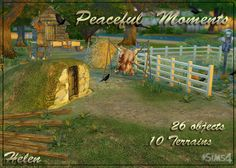 Sims 4 CC's - The Best: Peaceful Moments by Helen Sims