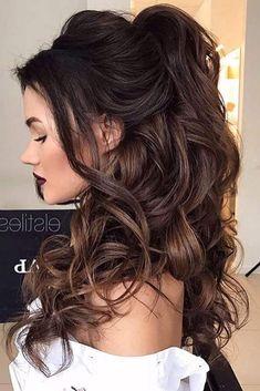 Sammlung von Lange Frisuren Für Prom Lange Frisuren für Abschlussball ist nur ganz schön, es kann auch helfen, Ihre starke Gesichtszüg...