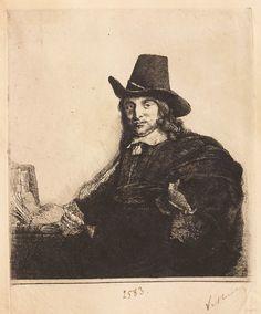 """Pictorul Jan Asselyn, cca 1647. Imagine din colecțiile Bibliotecii """"V.A. Urechia"""" Galați."""