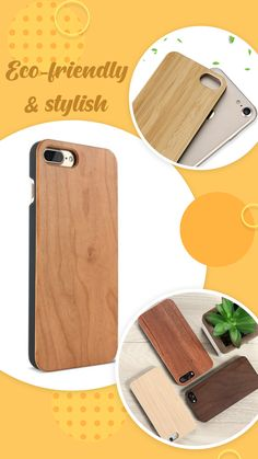 Natural Bamboo Phone Cover For iPhone Phone Cover, Bamboo, Iphone
