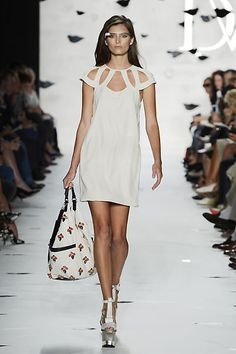 DVF | Achava Dress Spring 2013: Palazzo- Love this for summer.