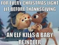 Know the facts!! Christmas kills.
