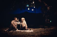 moonlight picnic engagement session http://lovetoastblog.com/2012/04/12/romantic-rowboat-engagement-session-by-paige-lowe-photography/