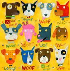 Nancy Wolff: Dog Pack
