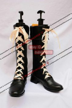 Vocaloid Miki Love Is War Cosplay Shoes Boots | eBay