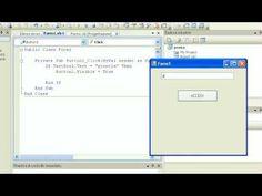 Tutorial-21-Imparare Visual Basic - #Basic #Corsi #Corso #Esem #Esempi #Esercizi #Imparare #Lezione #Lezioni #Linguaggio #Manuale #Programma #Programmare #Programmazione #Tutorial #Video #Visual http://wp.me/p7r4xK-VB