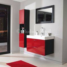 Really popular this year - The Contrast Bathroom Furniture range from Hudson Reed.     http://www.victorianplumbing.co.uk/Hudson-Reed-Contrast-Furniture-Pack-RF011.aspx