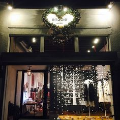 Our LA store decorated for the holidays.