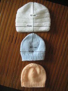 bonnet (3) - Photo de Modèles pour bébés prémas + photos - Clo s  bricolages. Bonnet TricotLaine ... f7e894bd3ac
