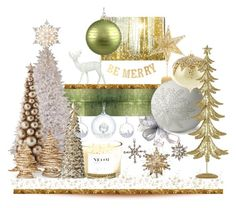 """""""Decorations on the Tree'"""" by dianefantasy ❤ liked on Polyvore featuring interior, interiors, interior design, home, home decor, interior decorating, Designers Guild, Oliver Gal Artist Co., Cultural Intrigue and NEOM Organics"""