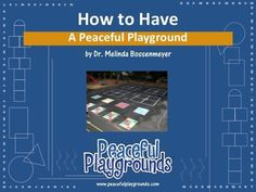 The How to Have a Peaceful Playground Training. Would you like your playground to be peaceful? With a few proven strategies and procedures your playground can be a peaceful place for students and adults alike. Make Flash Cards, Best Online Courses, Brain Breaks, Learning Environments, Teaching Tools, Physical Education, Teacher Pay Teachers, Teacher Stuff, Elementary Schools