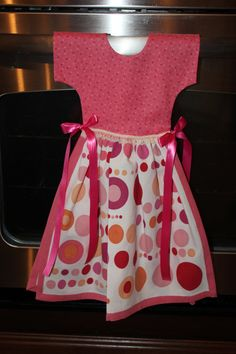Tea Towel Dress, Kitchen Towel,  Hand Towel. $12.00, via Etsy.