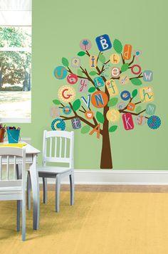 """Chaleureux, esthétiques et élégants, nos stickers donnent du """"pep's"""" à n'importe quelle chambre! #stickers #chambre #déco #idéedéco #enfant"""