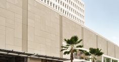 Image 1 of 1 from gallery of 3 Materials With the Potential to Improve Traditional Concrete. TAKTL's ultra-high-performance concrete panels on the Waikiki Business Plaza by MGA Architecture. Image Courtesy of TAKTL