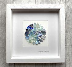 Sea Glass Mosaic, Sea Glass Art, Sea Glass Jewelry, Sea Glass Decor, Sea Glass Beach, Sea Crafts, Sea Glass Crafts, Sea Glass Display, Seaside Cottage Decor