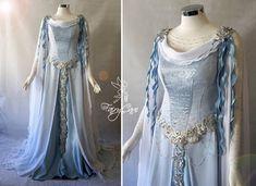 Medieval Gown, Renaissance Clothing, Medieval Fashion, Pretty Outfits, Pretty Dresses, Beautiful Dresses, Narnia, Elvish Dress, Fairytale Fashion