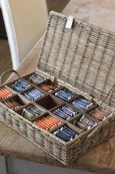 Rattan, Rivera Maison, Wooden Tea Box, Tea Storage, Storage Basket, Paper Weaving, Newspaper Crafts, Paper Basket, Makeup Storage