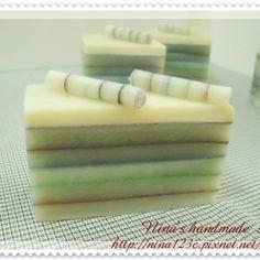 分層篩粉皂~貴族蛋糕 @ nina123c's DIY :: 痞客邦 PIXNET ::