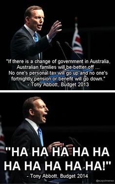 Budget LOLS #auspol
