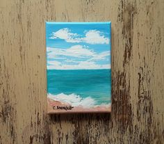 Your place to buy and sell all things handmade Seascape Paintings, Nature Paintings, Your Paintings, Watercolor Paintings, Original Paintings, Watercolor Cards, Watercolor Flowers, Unique Cards, Affordable Art
