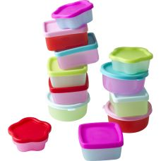 Mini food boxes by RICE at www.pinksandgreen.co.uk