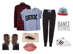 """""""if i was a kpop dancer"""" by nichole-lynn-evv on Polyvore featuring Topshop, River Island, adidas, Anatomy Of, Lime Crime and Brewster Home Fashions"""