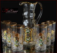 French Provincial Furniture, Bohemia Crystal, Royal Furniture, Dinner Sets, Pin Collection, Glass Art, Vase, Mugs, Antiques