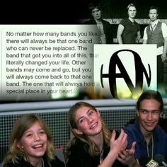 Hanson still the best band around! ☺