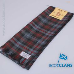 Pure wool scarf in Murray of Atholl Weathered tartan - from ScotClans
